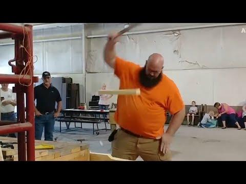 Epic Knife Skills at Bladesports Championship!