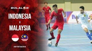 KALAH DARI TETANGGA! Indonesia vs Malaysia (5-7) - Highlight AFF Futsal Championship 2018
