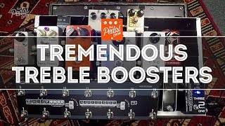 That Pedal Show – Tremendous Treble Boosters For Glorious Classic Drive Tones