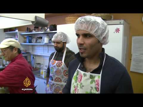 Finland struggles with influx of refugees