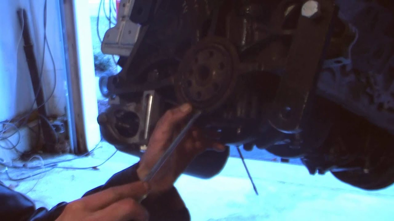 How To Install A Rear Main Seal On A 3 4 Chevy Push Rod