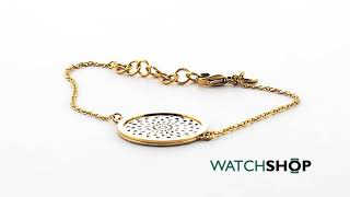 STORM Jewellery Ladies' PVD Gold plated Denzi Bracelet (DENZI-BRACELET-GOLD)