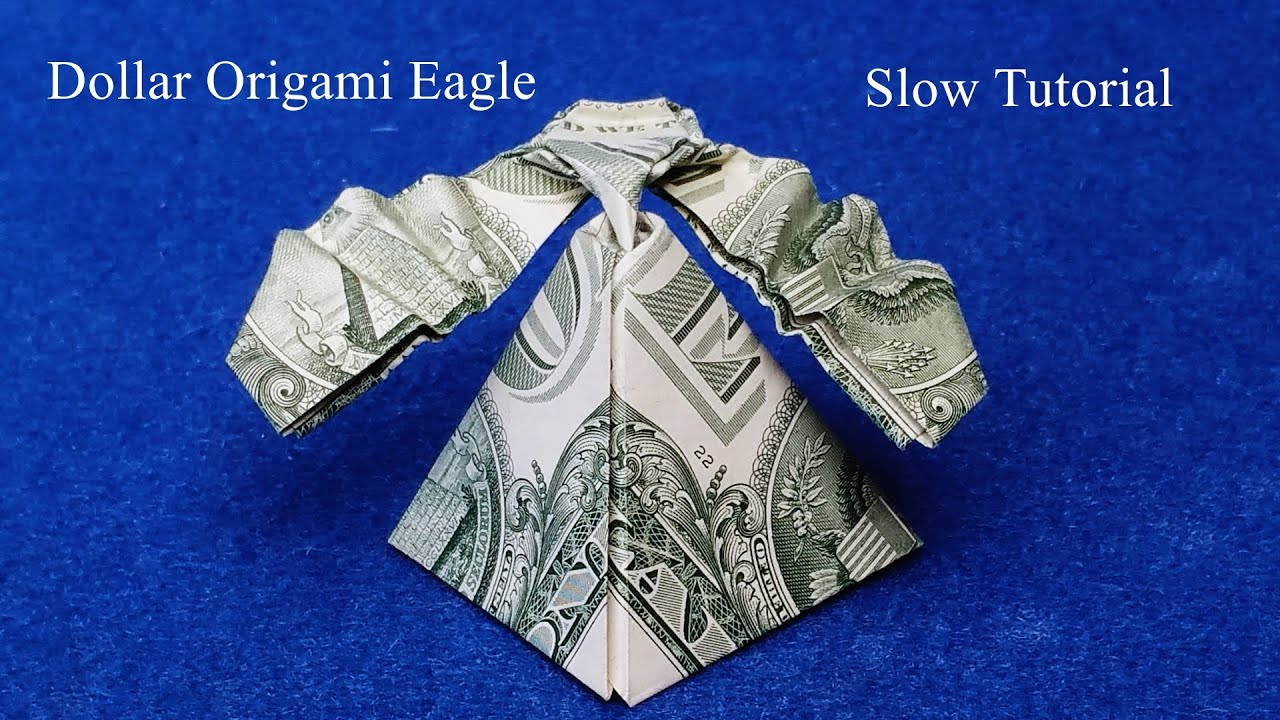 Origami Advanced Eagle Diagram 1940 Ford 9n Wiring Dollar Slow Tutorial How To Make A