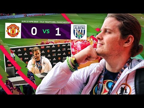MANCHESTER UNITED v WEST BROM! MY FIRST EVER PREMIER LEAGUE MATCH VLOG!