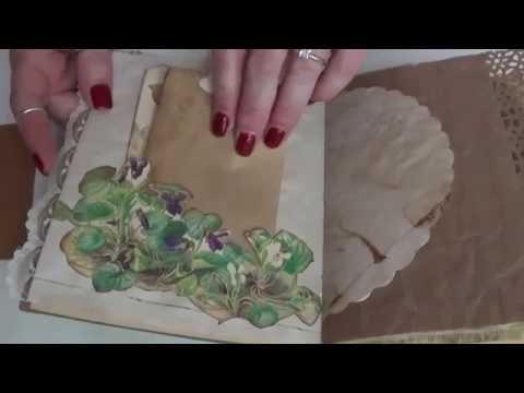 Vintage Nature Journal  **SOLD**