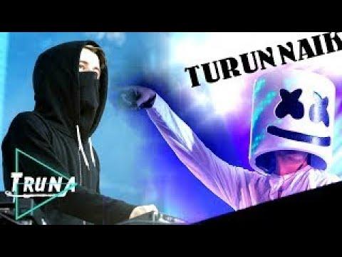 DJ Alan Walker vs DJ Marshmello - Turun Naik Oles Trus vs Akimilaku | Breakbeat Mix 2017