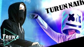 DJ Alan Walker vs DJ Marshmello - Turun Naik Oles Trus vs Akimilaku | Breakbeat Mix 2017