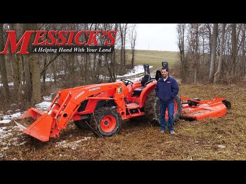 How To Run A Rotary Cutter Featuring The Land Pride RCR1872