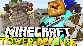 TOWER DEFENSE IN MINECRAFT!? | JeromeASF