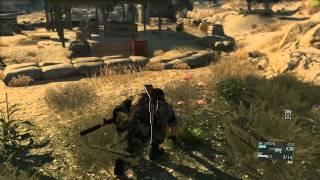 Metal Gear Solid V The Phantom Pain PC Max Settings 1080p- Free Roam Gameplay