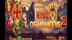 KING OF MONKEYS 2 Jackpot Party Casino Slots,free spin   Slot Machine