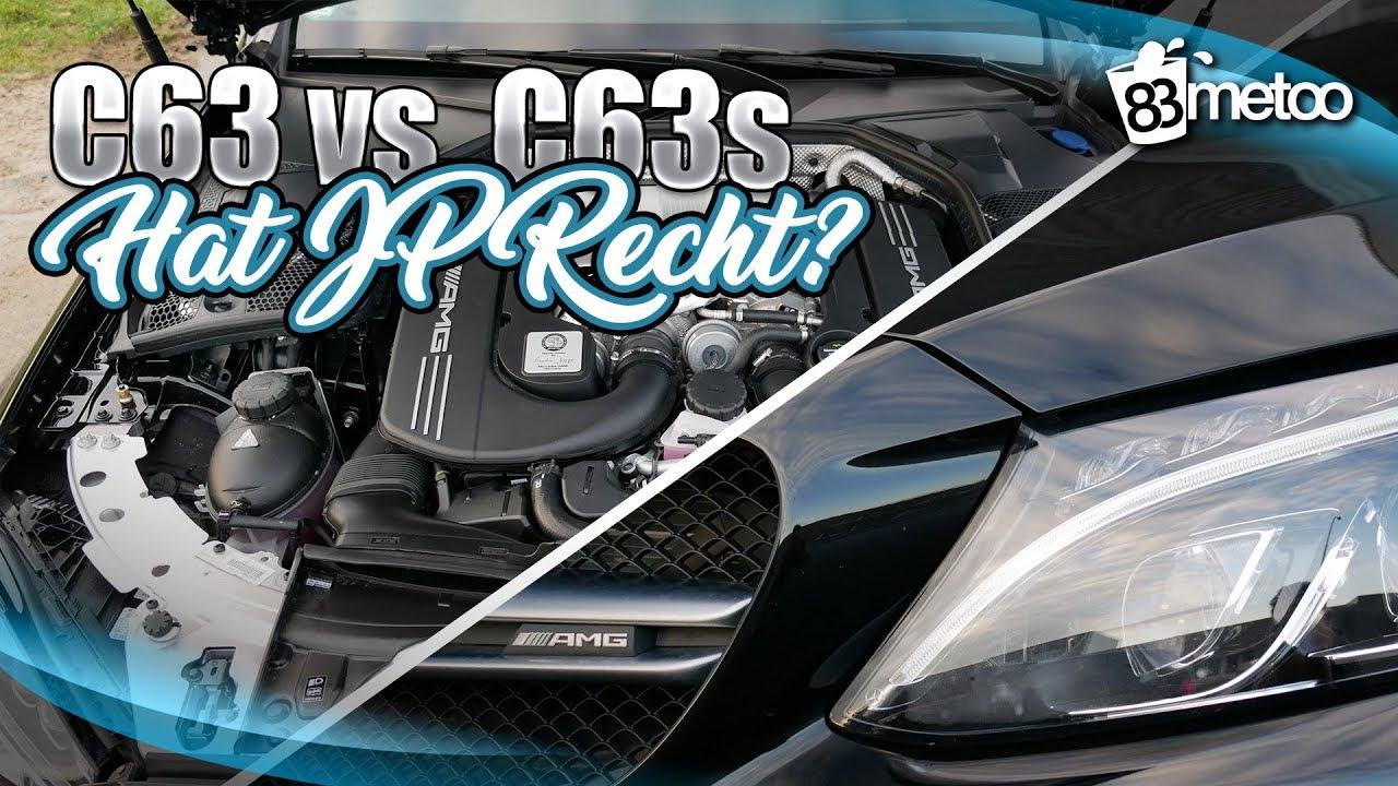 Amg C63 Oder C63s Unterschied Hat Jp Performance Recht Und Lohnt Der Höhere Preis