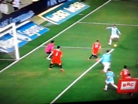 Malaga-Sevilla 3-2 ''DUDA'' goal 01 02 2014 la liga