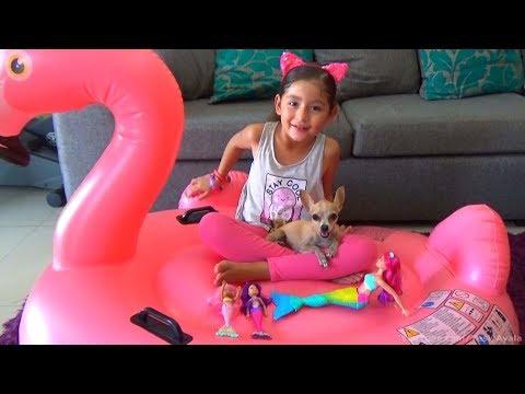 Barbie Sirena Mermaid Fantasy Pool Party Fiesta De Piscina