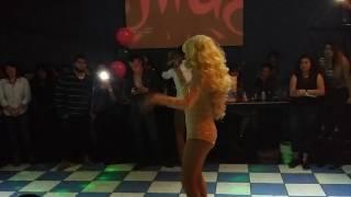 Lorena Herrera Flash  imitación Divas Albatros Cd Juárez