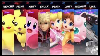 Super Smash Bros Ultimate Amiibo Fights   Request #1312 Team Battle at Fountain of Dreams