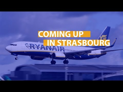 Coming up in Strasbourg: Brexit, telecoms, cybercrime, Ryanair & more