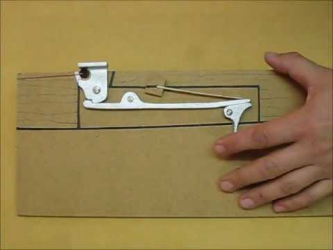 how to make a wooden crossbow with a trigger