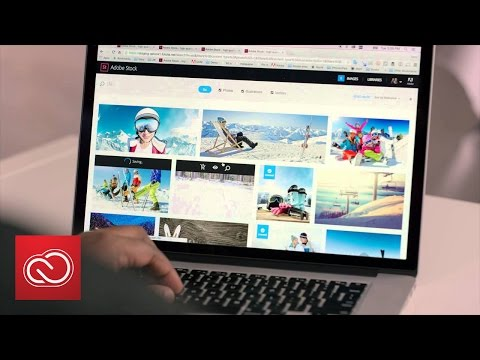 Access Adobe Stock From Inside Your Creative Cloud Apps | Adobe Creative Cloud