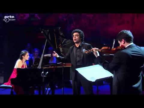 """Inga Fiolia, Rolando Villazon & Michael Barenboim play  C.Gardel:Tango """"El dia que me quieras""""/"""