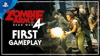 Zombie Army 4: Dead War – E3 2019 First Gameplay Demo | PS4