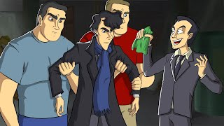 Смешные моменты в сериале Шерлок Холмс IKOTIKA ( 1 Сезон / 1 Серия )