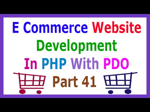 E Commerce Website Development In PHP With PDO Part 41 Add To Cart From Product Detail Page