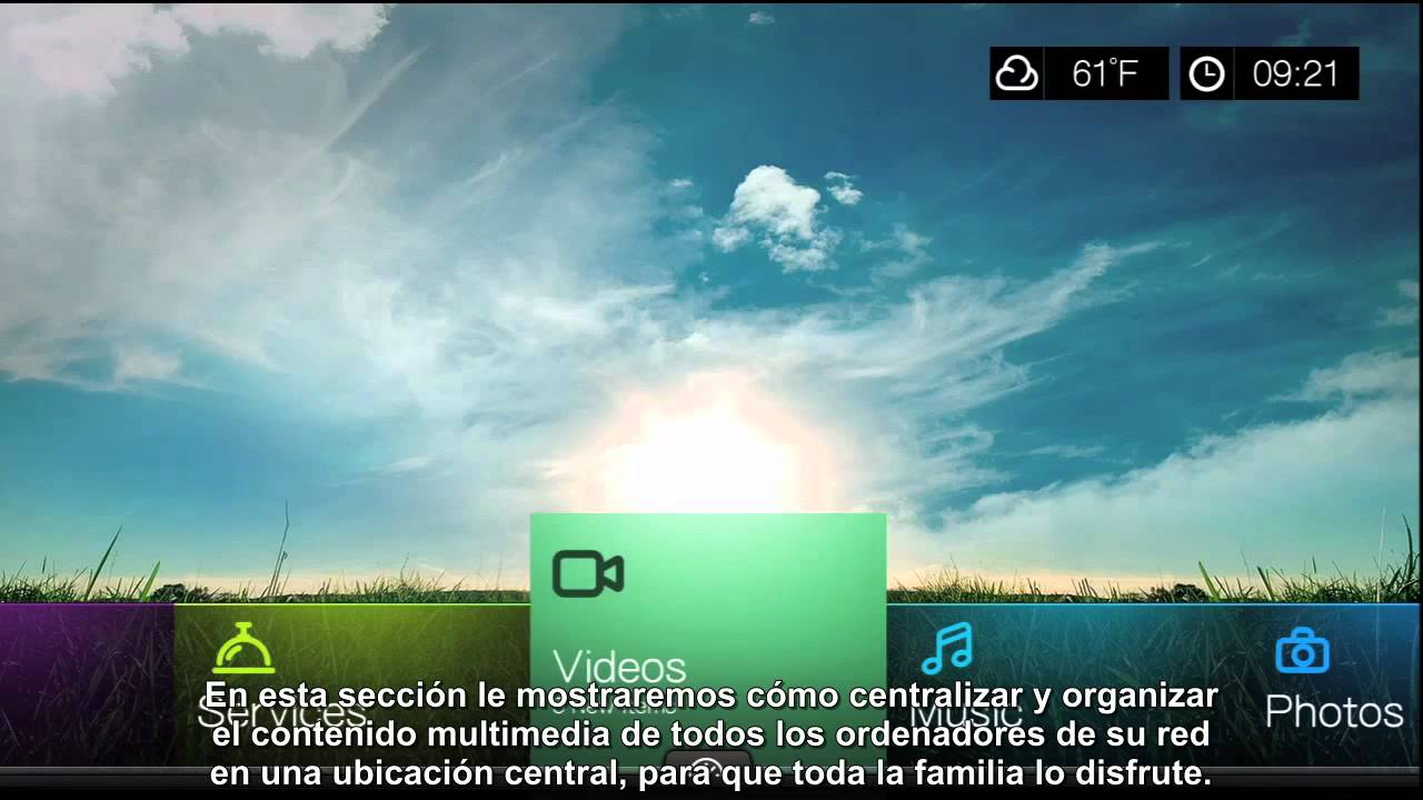 WD TV Live Hub Sharing on Your Home Network video (Spanish) - YouTube