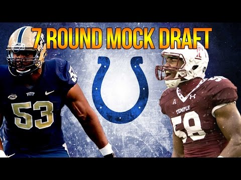 7 ROUND INDIANAPOLIS COLTS MOCK DRAFT | FREAK LB + FOREMAN! | OFFSEASON GRADES
