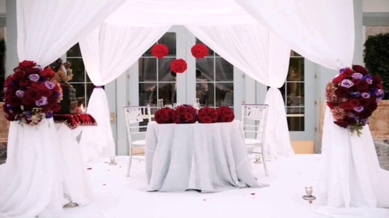 Diy Sweetheart Table Decor - YouTube