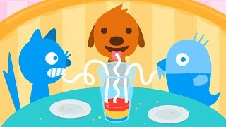 Sago Mini World🌎 - Sago Mini Pet Cafe - Baby Learn Colors, Numbers & Shapes with Kids Games