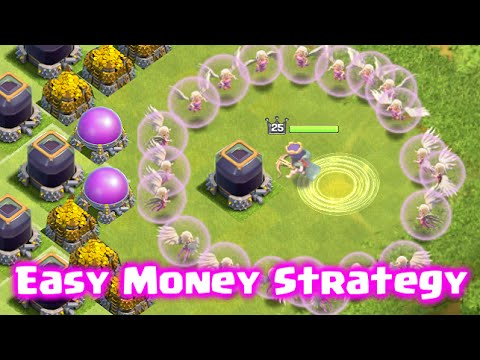 Clash of Clans - Easy Money Strategy with Super Queen