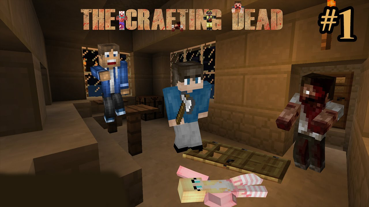 The Crafting Dead Ep 1 From Bad to Good Multiplayer YouTube