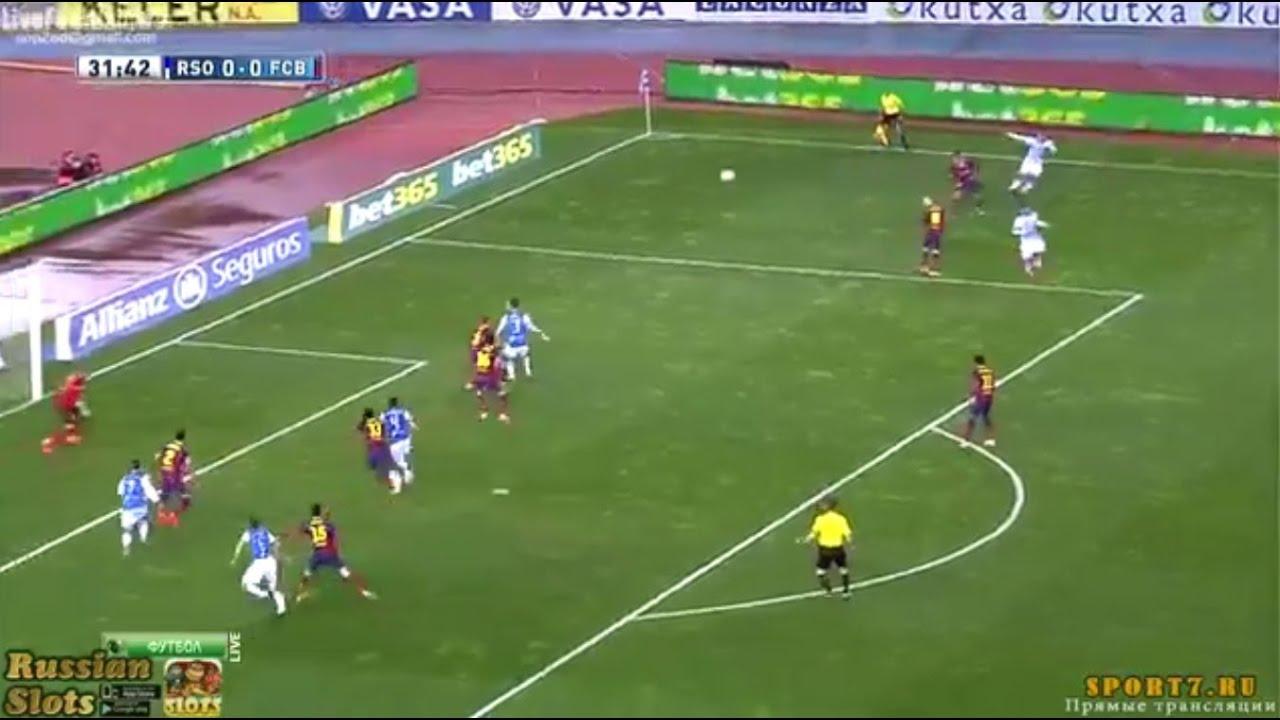 match en direct real sociedad vs barcelona 27/11/2016 - YouTube