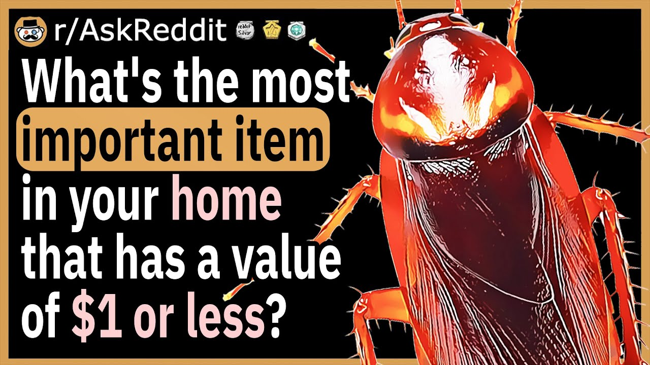 What's the single most important item in your home that has a value of $1 or less?