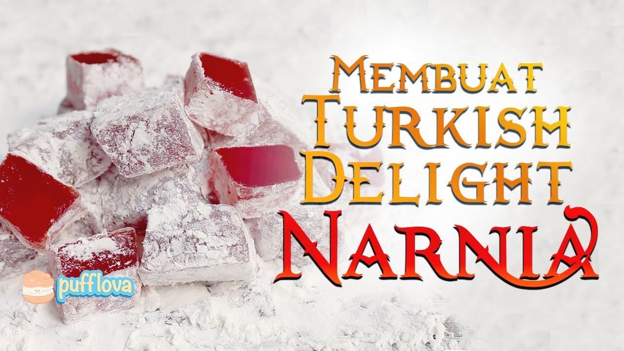 Membuat Turkish Delight Narnia Lokum Recipe Movie Recipe 13