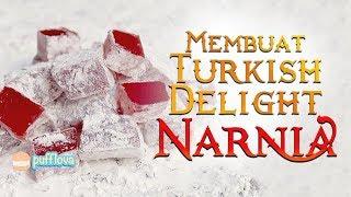 Download Video MEMBUAT TURKISH DELIGHT NARNIA | LOKUM RECIPE | MOVIE RECIPE #13 MP3 3GP MP4