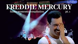 Freddie Mercury compilation/funny moments