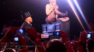Madonna Dont Cry For Me Argentina MDNA TOUR  fanmade video Buenos Aires 13/12/2012