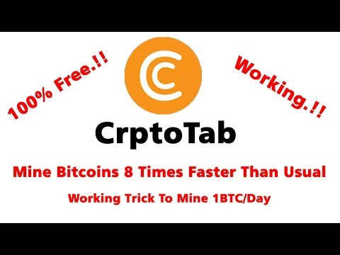 Legit Bitcoin Mining|CryptoTab|Easiest Trick To Mine Bitcoin|Free Crypto Mining