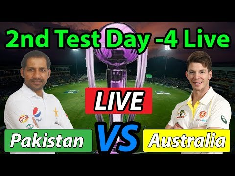 Live: Pakistan vs Australia, 2nd Test, Day 4 ,Cricket Score, & Commentary Last Test Match Pakistan
