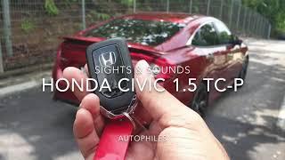 CAR ASMR | 2020 Honda Civic 1.5 TC-P | Sights & Sounds