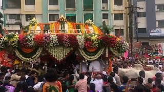Pandharpur Palkhi 2018. Pune palki at hadapsar 2018. Sant Gyaneshwar palkhi.