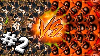 BALLON VS COCHON #2 | UN COMBAT TOUJOURS AUSSI SERRE ? | Clash Of Clans