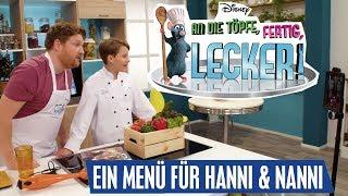 AN DIE TÖPFE, FERTIG, LECKER! - Ein Menü für Hanni und Nanni | Disney Channel