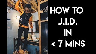 How to JID in Under 7 Minutes | FL Studio Trap and Rap Tutorial