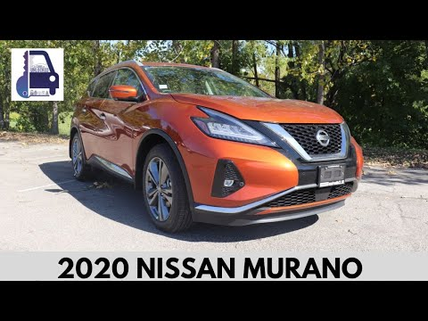 2020 Nissan Murano Platinum AWD In Depth Detailed Walk Around and Review