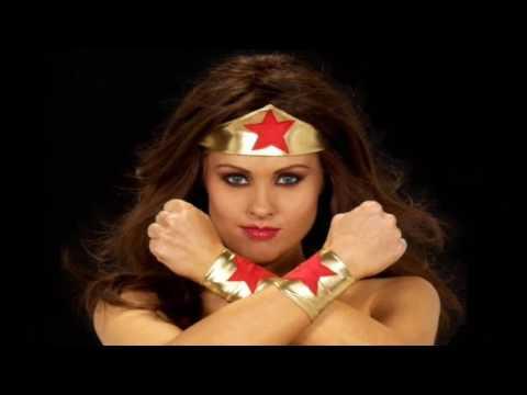 Darcy Donavan as a Superhero!  Wonder Woman