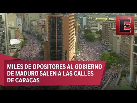 ÚLTIMA HORA: Megamarcha en Caracas, Venezuela