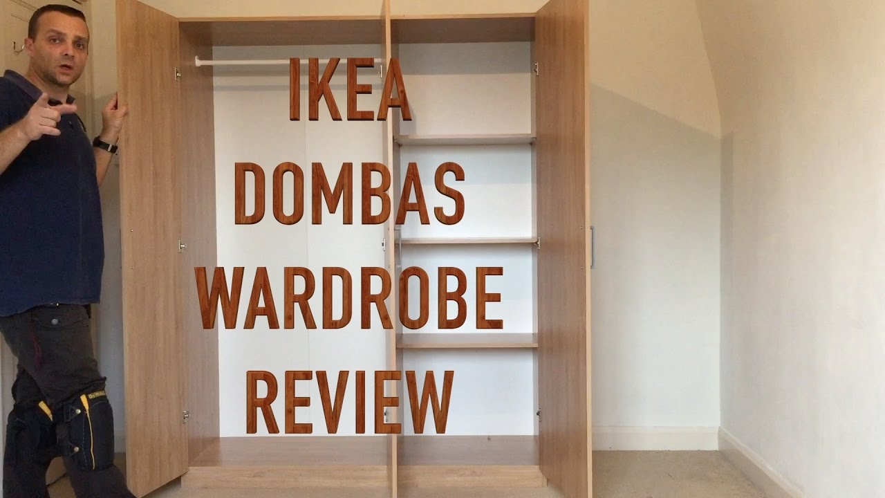 Ikea dombas wardrobe review youtube for Ikea guardaroba dombas
